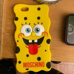 Moschino Spongebob case for iPhone 6